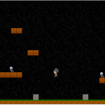 Example platformer style game used to teach game physics and animation