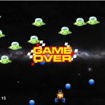 Java Space Game made with Greenfoot in class