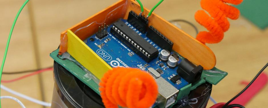 What we did this summer: Part Three – Making Robots With Arduino