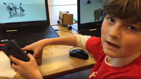 VIDEO: Student explains his AR/VR project