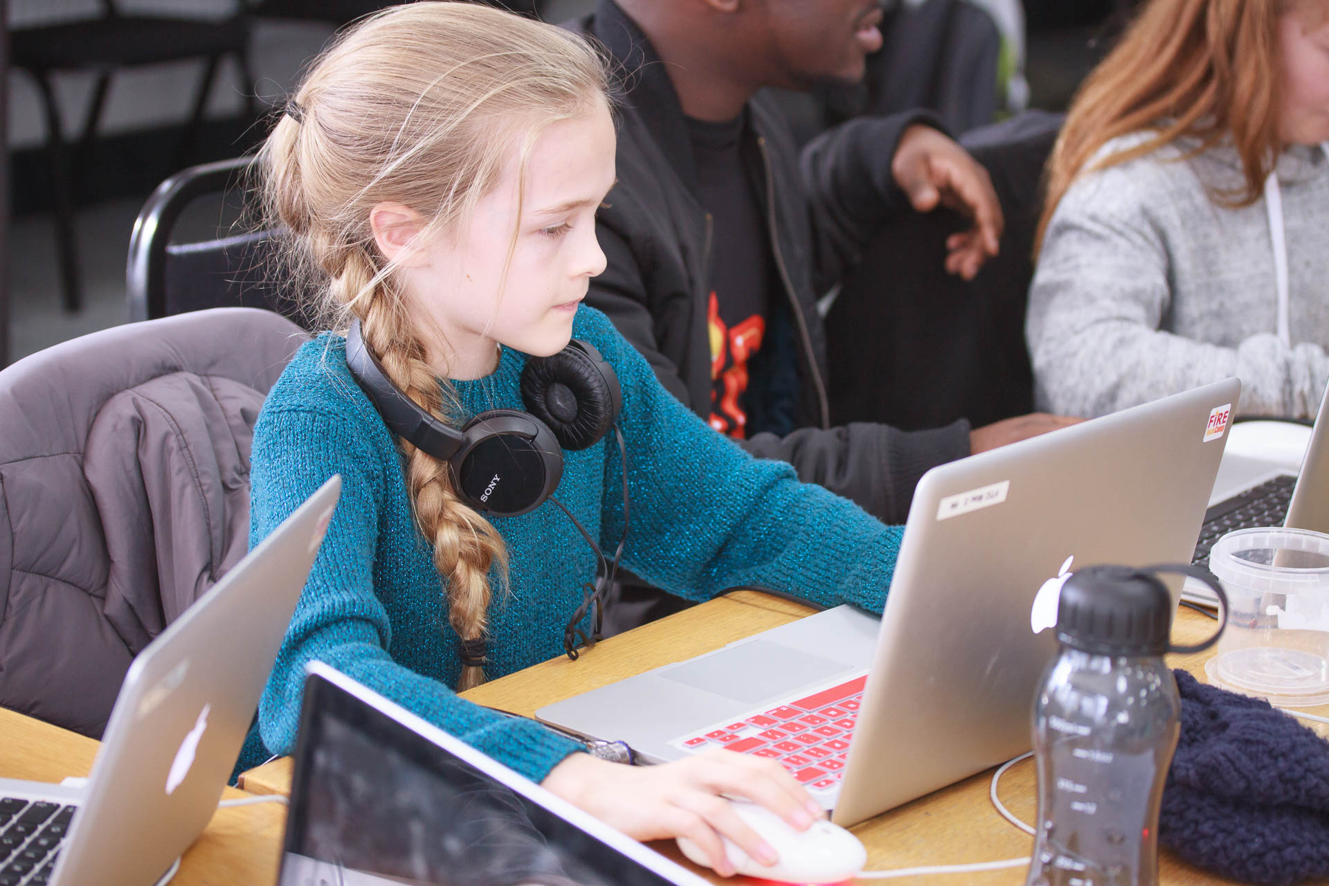 The Future is Bright: Getting More Girls into STEAM