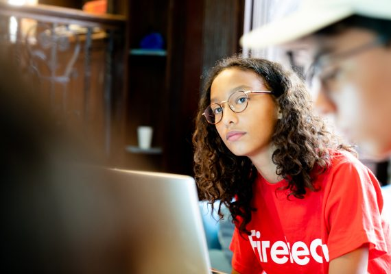 Photo: Teen Coding With Python II – On Campus