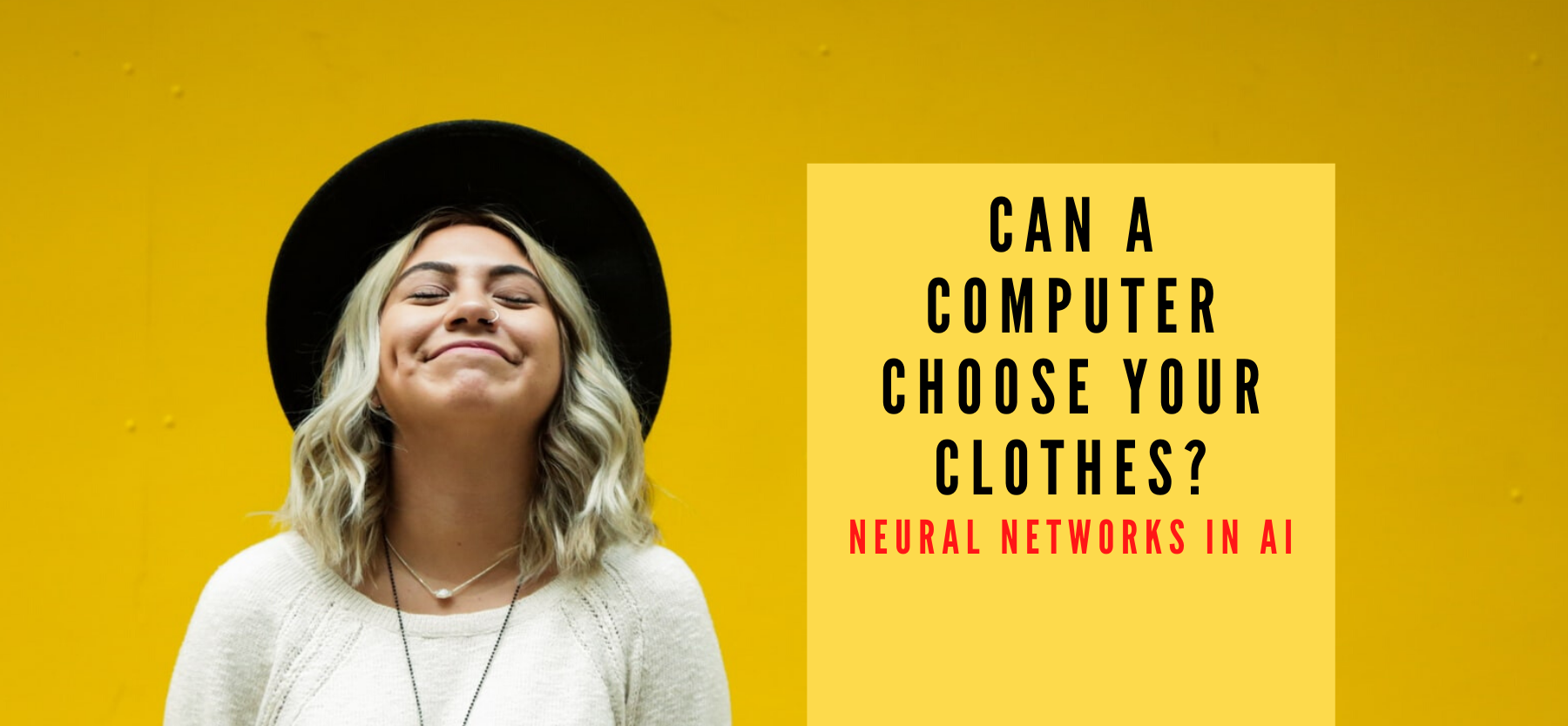 Can computers choose your clothes? AI neural networks