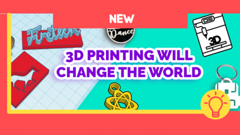PHOTO: New: 3D Printing Will Change The World
