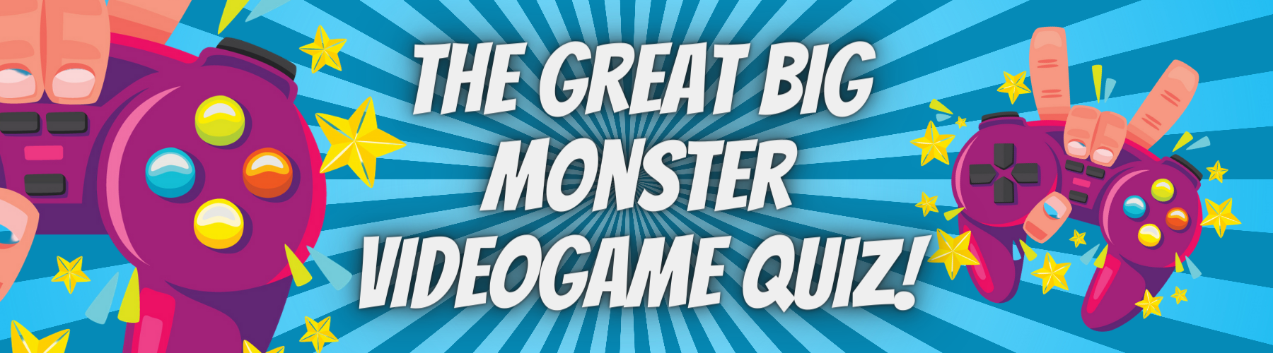 The Great Big Monster Videogame Quiz!