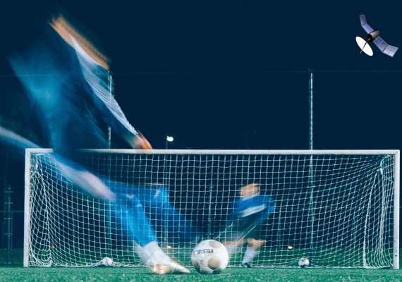 Photo: Where Did The Ball Go? GPS Tracking in Sport