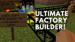 ULTIMATE MINECRAFT FACTORY BUILDER