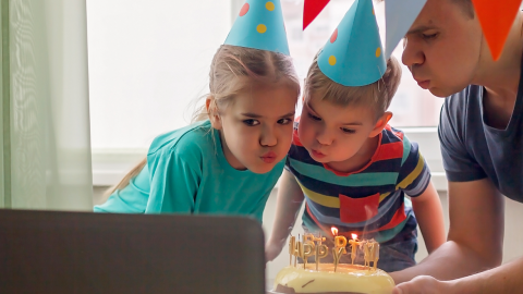 How to throw a virtual birthday party in lockdown