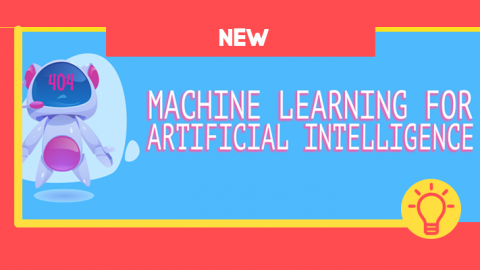 PHOTO: New: Machine Learning For Artificial Intelligence