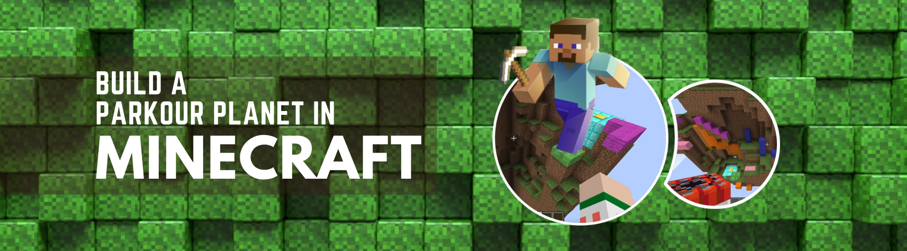 Build a Parkour Planet in Minecraft